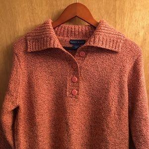 Karen Scott Sweaters - 4 Button Down Sweater
